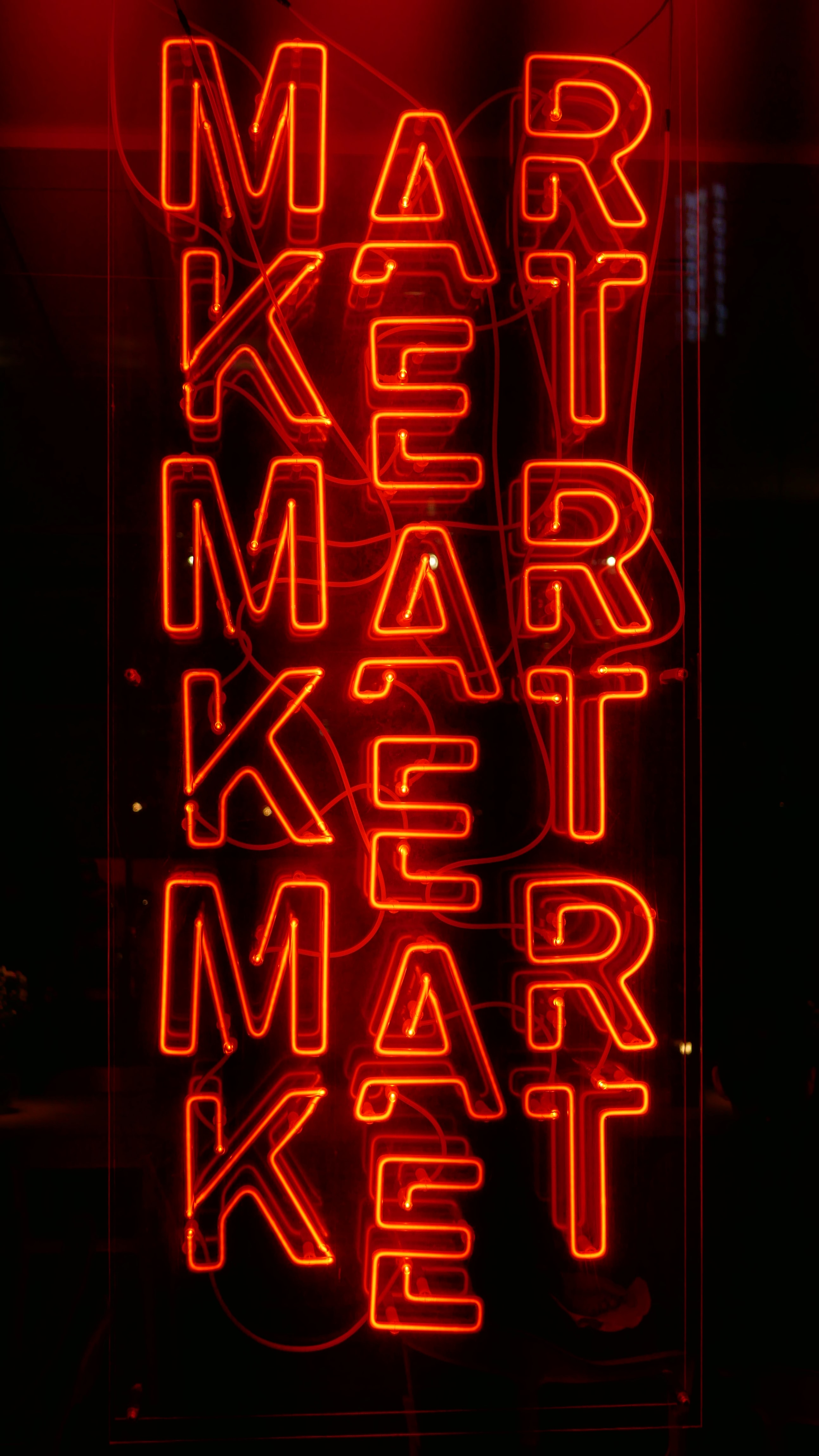 red market sign