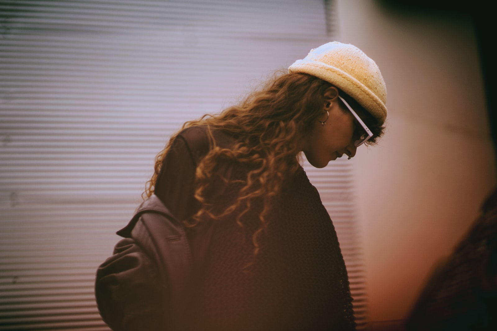 "Nikon D700 sample photo. ""Woman in black top"" photography"