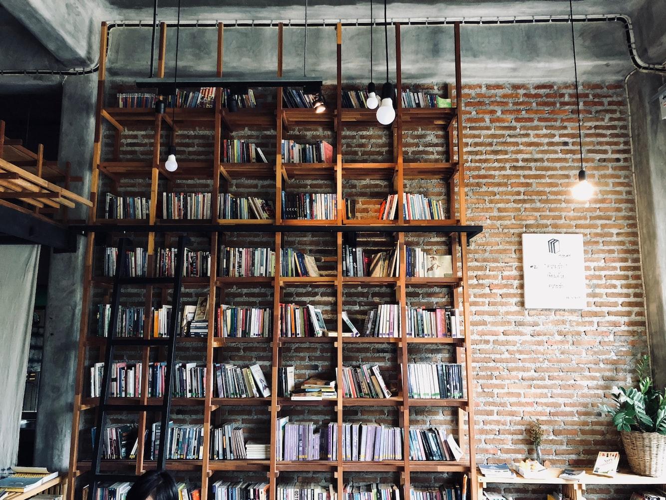 Bookshelf Zoom Backgrounds