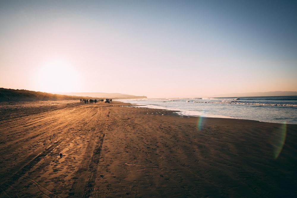 scenery of seashore