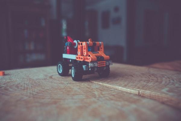 Lego technic toy truck