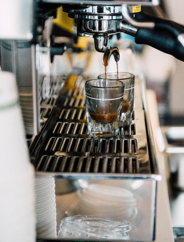 dripping espresso maker