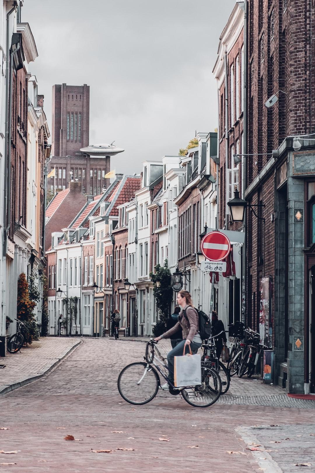 Biking in Utrecht