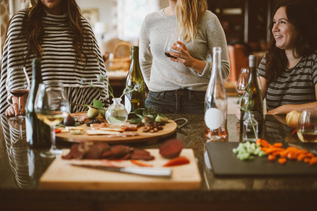 Have a potluck | How To Throw A Holiday Party On A Budget