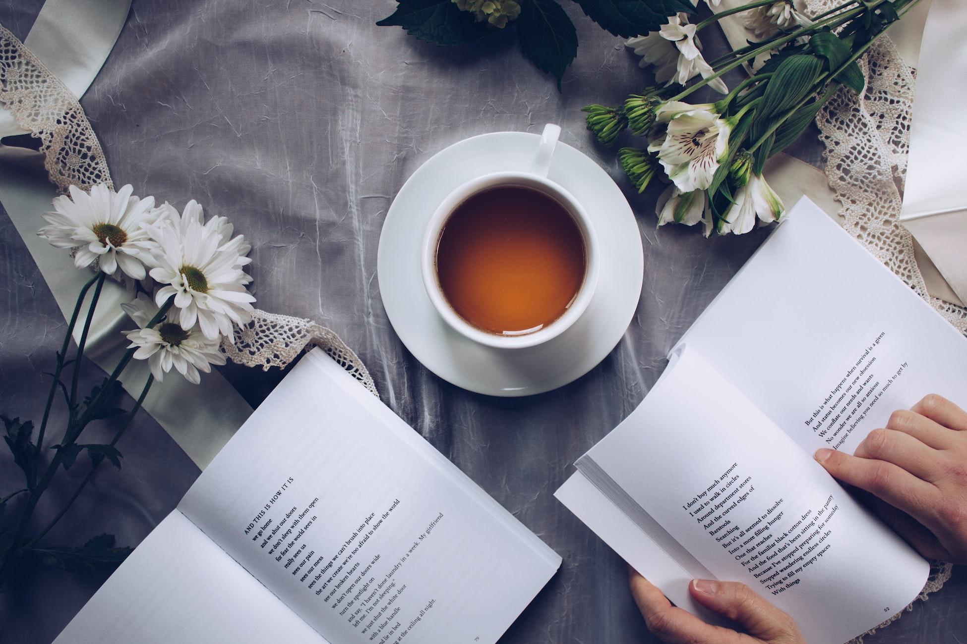 čítanie francúzskej knihy