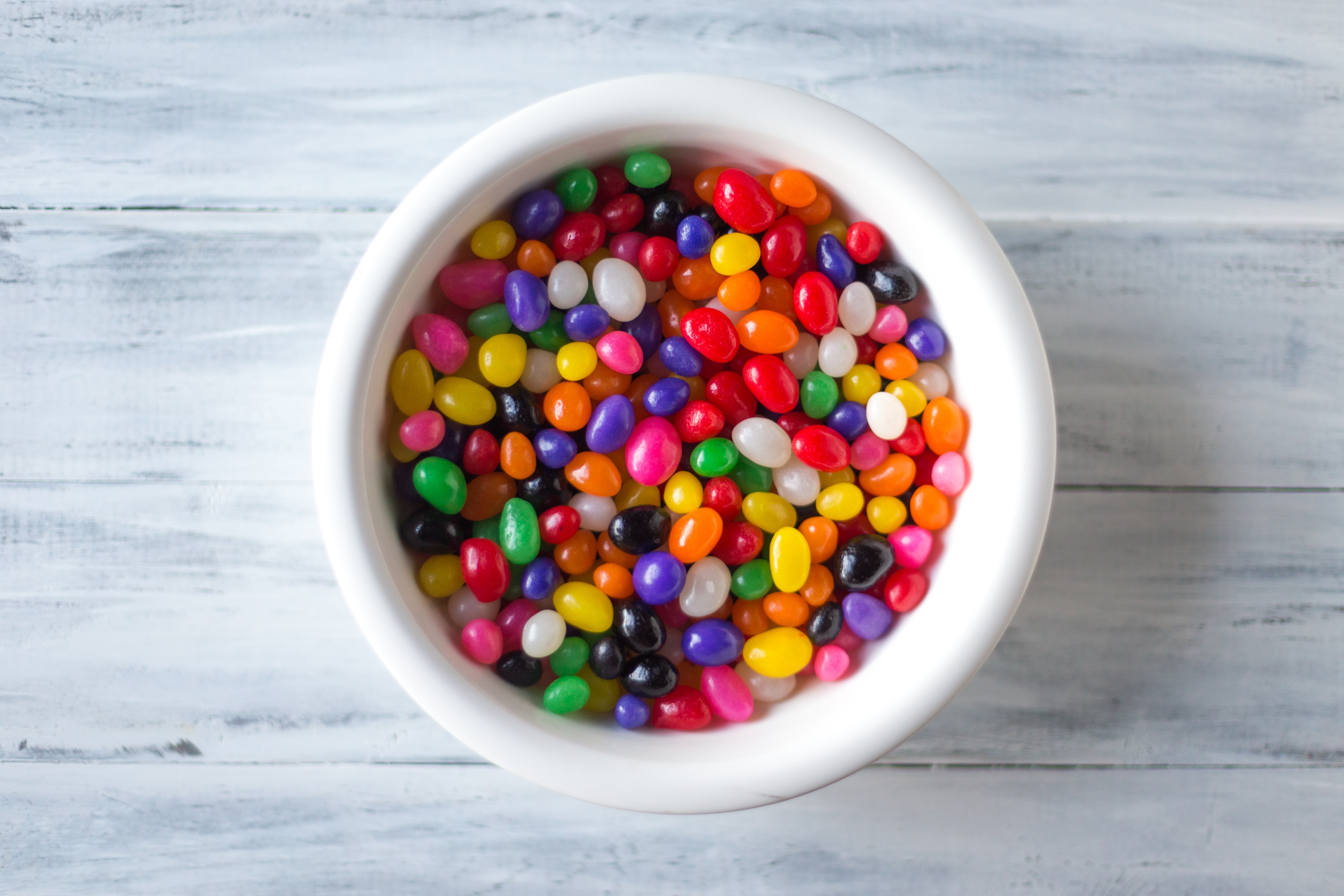 assorted flavors of jelly beans