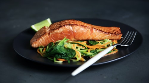 THE BEST SALMON IS COOKED THE ALASKAN WAY