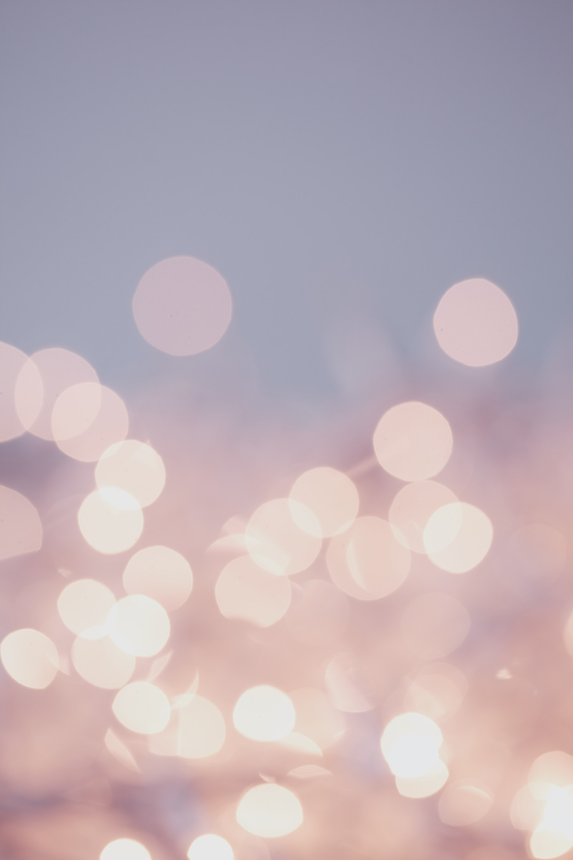 Pretty pastel bokeh fairy lights background.