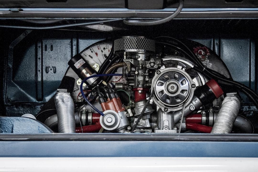 VW Camper Engine Bay