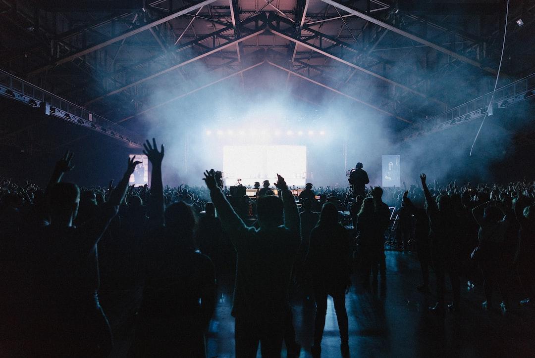 Concert des chainsmokers à Lyon.