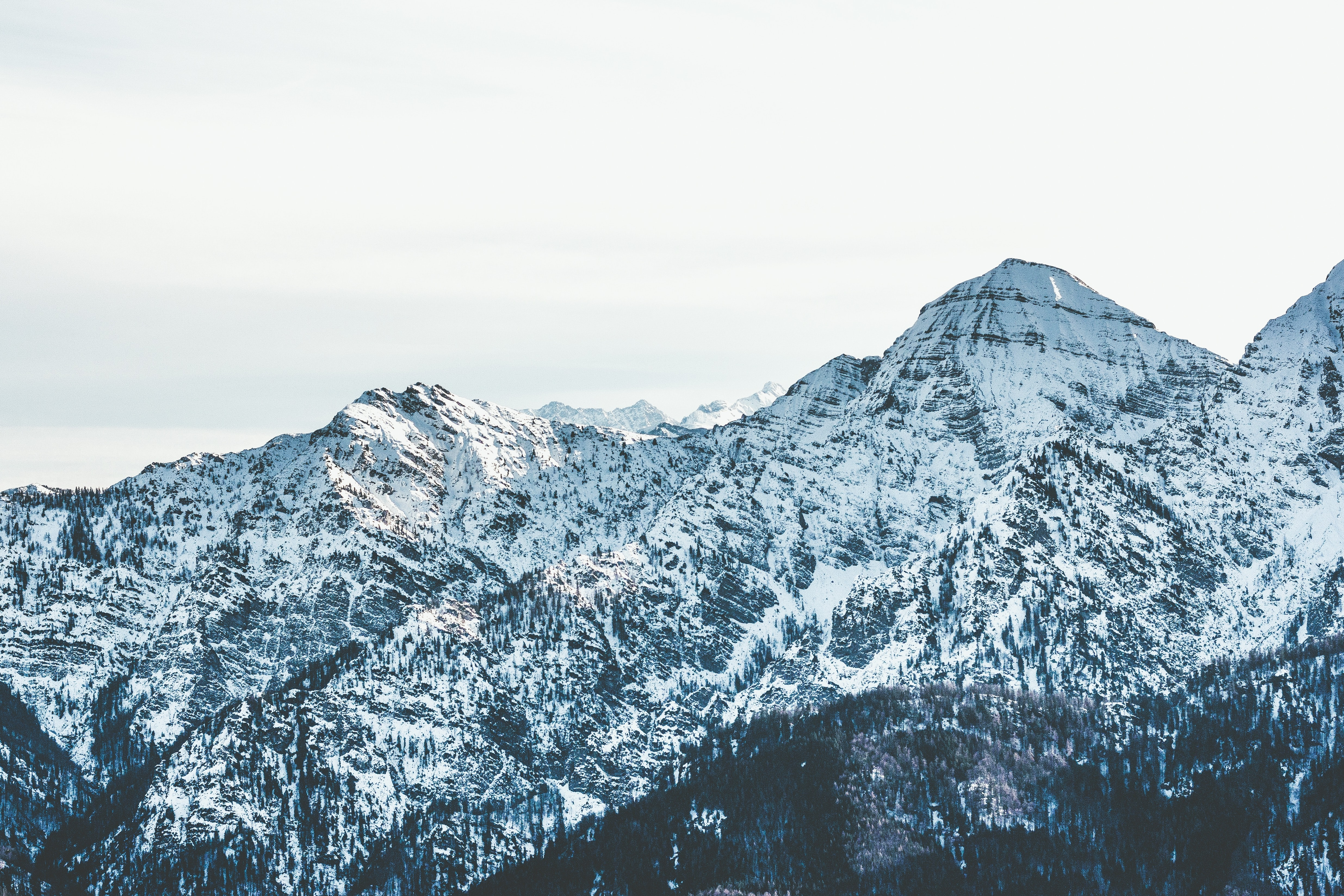 landscape photography of ice mountain