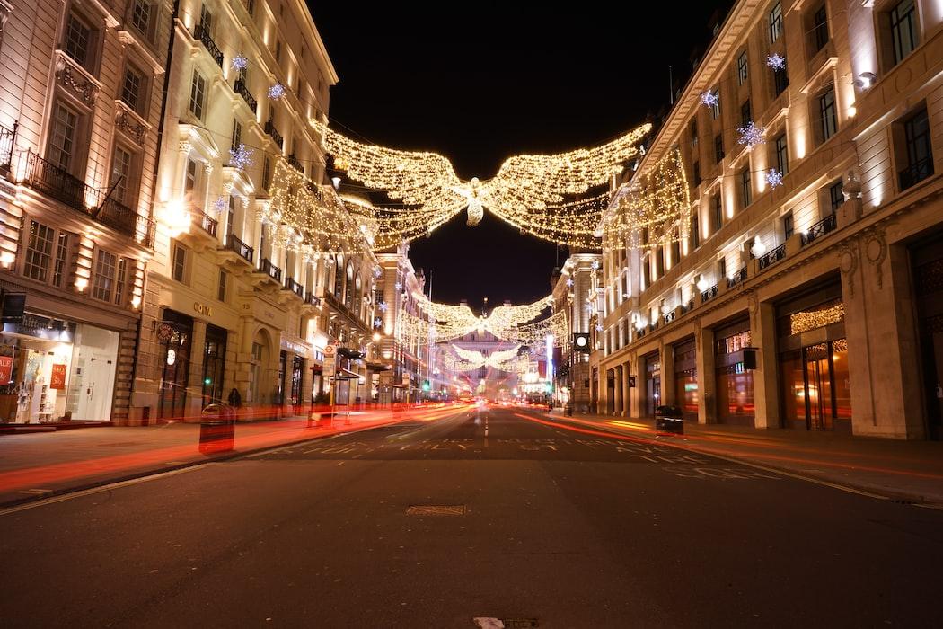 christmas light in november