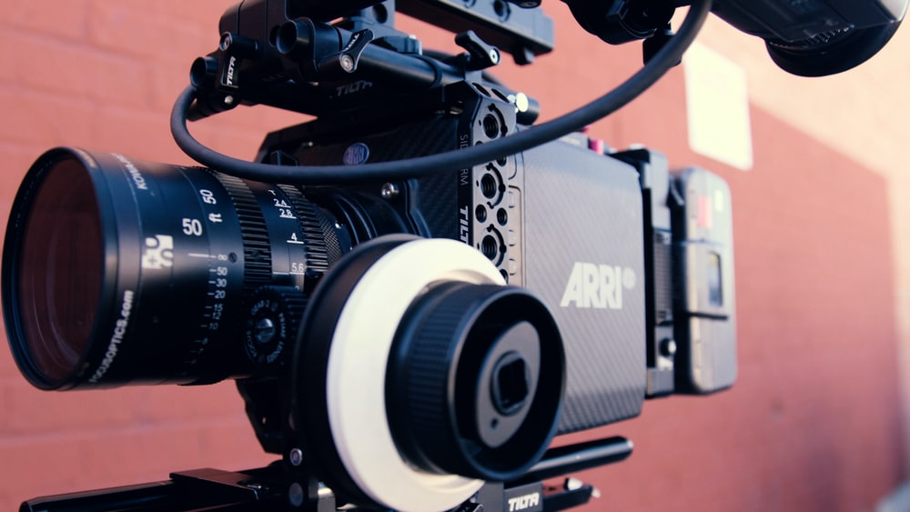 black Arri professional video camera