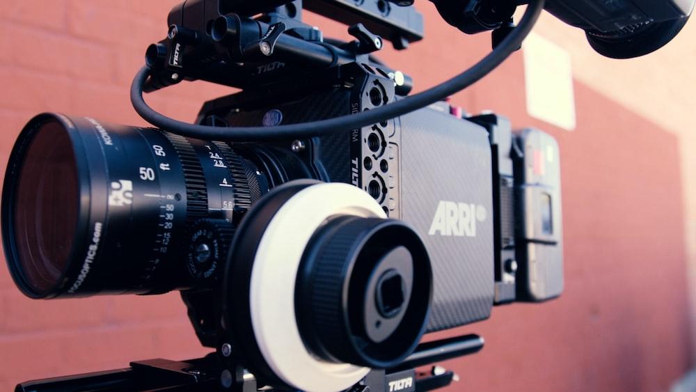 black Arri professional video camera