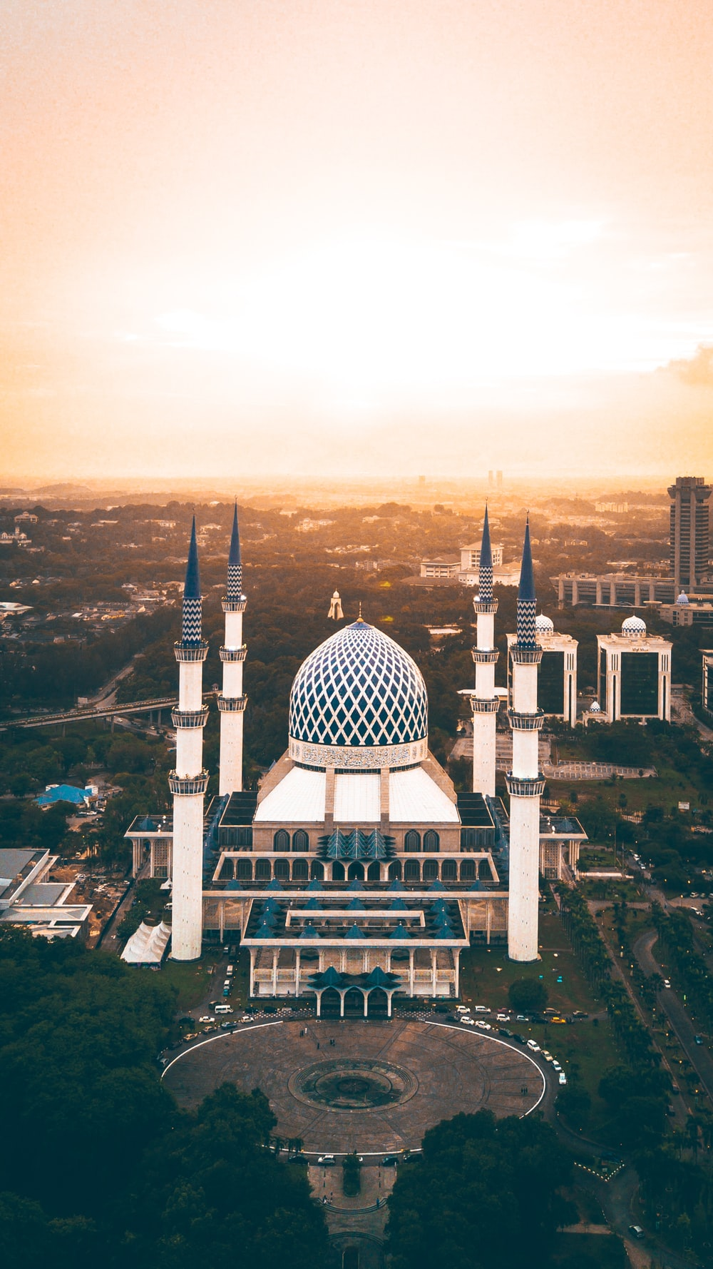 Blue Mosque, Turkey during golden hour