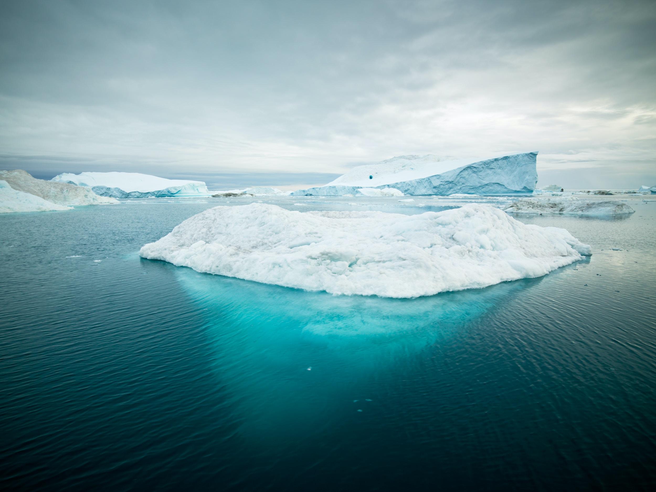 photo of iceberg