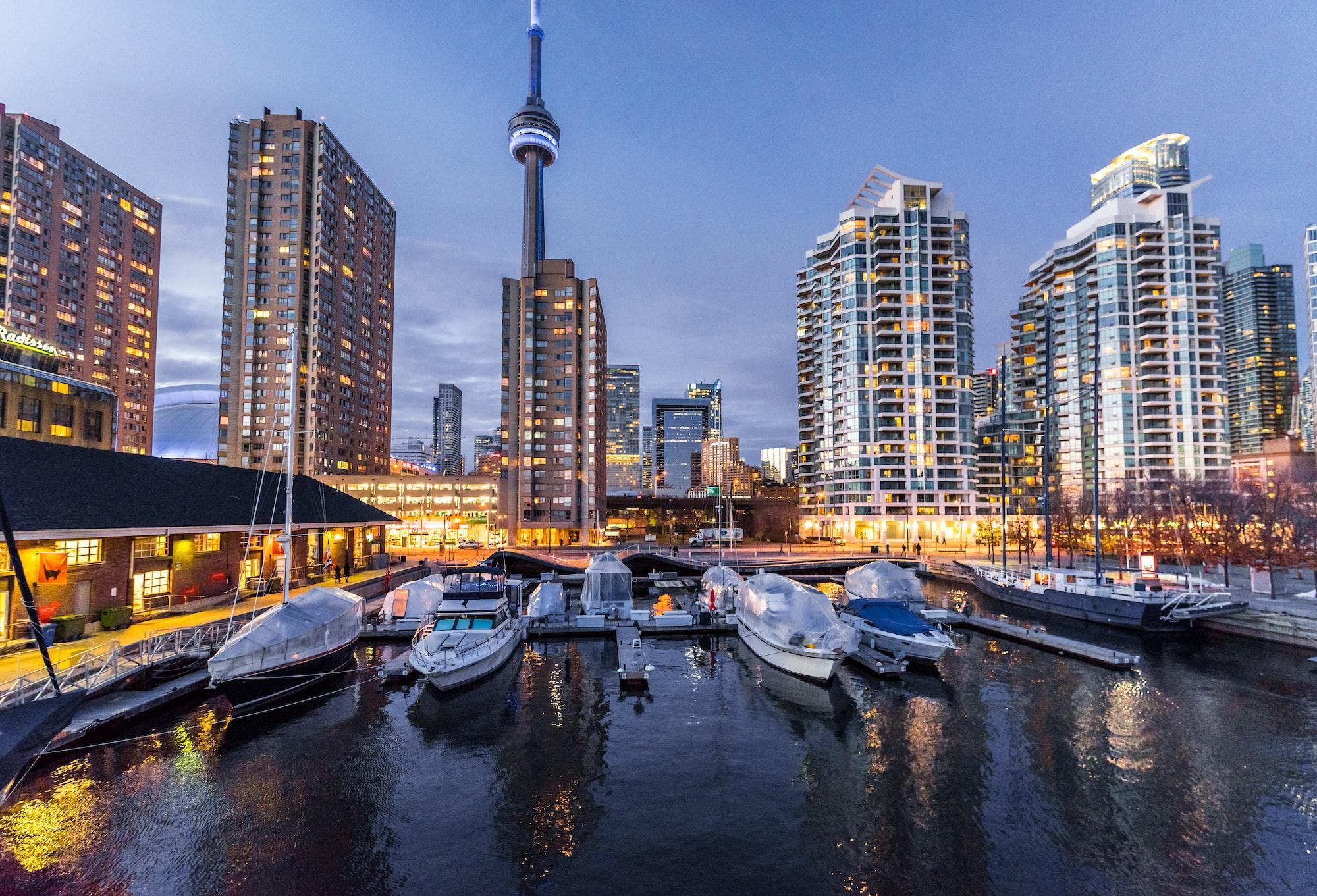 Summer nights Toronto