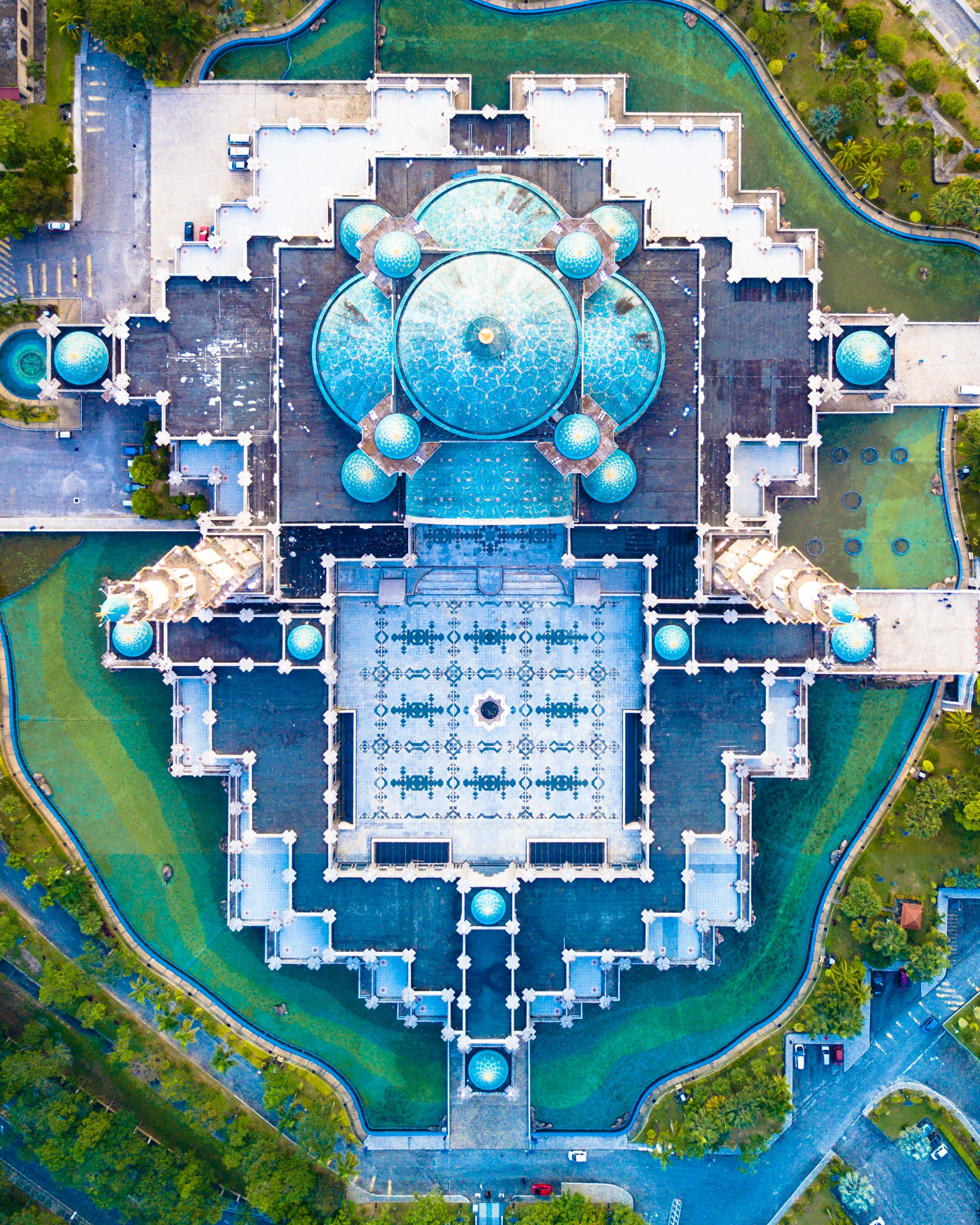 aerial photography of Blue Mosque, Istanbul