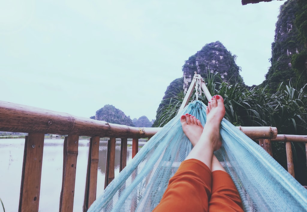 Research shows that a hammock improves sleep quality and makes people fall asleep faster.