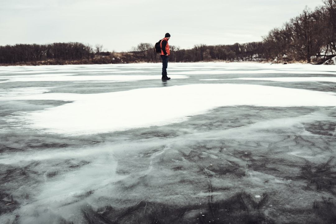 The winters in Minnesota are brutal, but being able to take a shortcut across a lake rather than around it is a pretty nice perk.