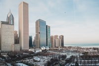 architectural photography of high-rise buildings