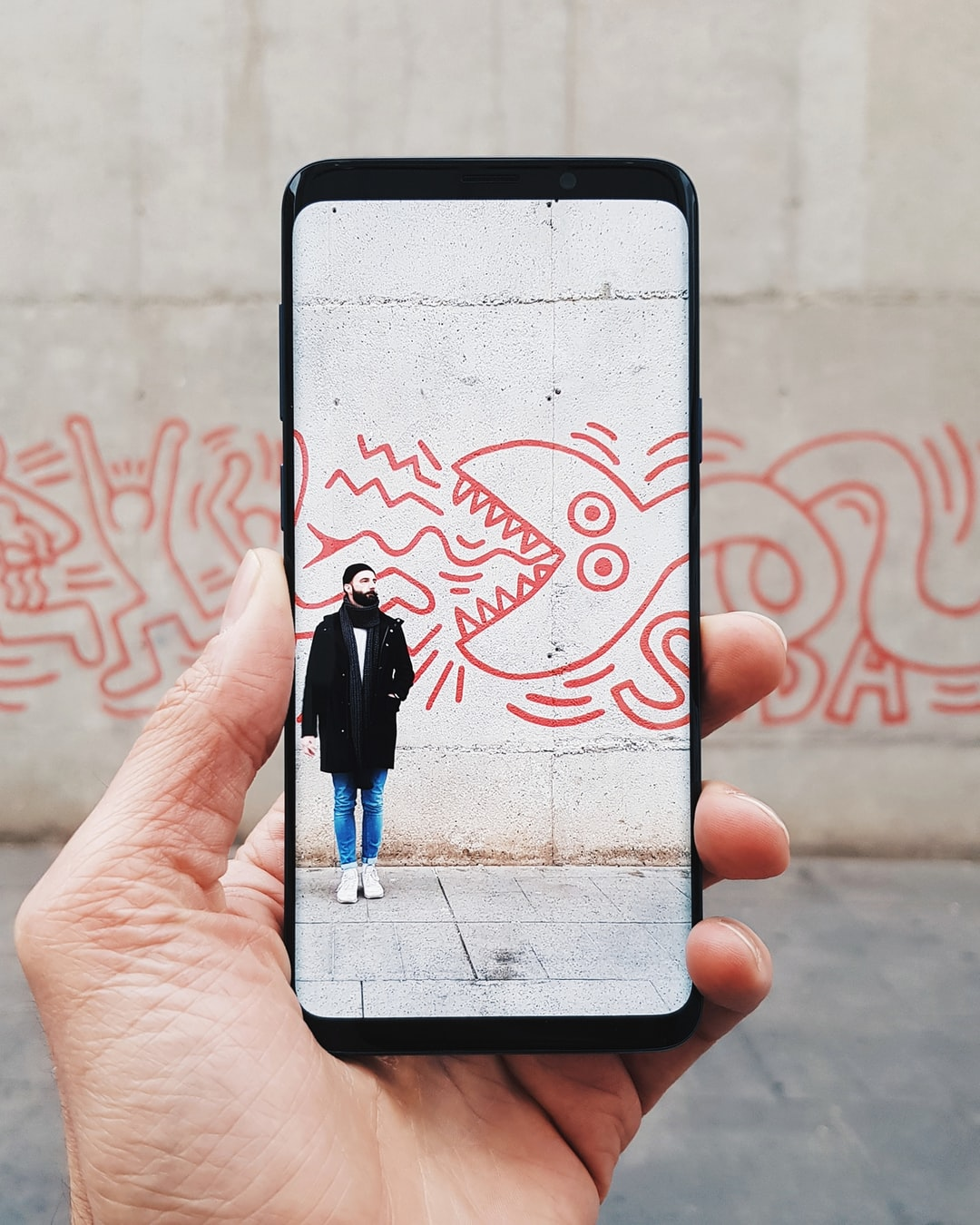 """I took this photo of the new Samsung Galaxy S9+ on a photo walk in Barcelona."""