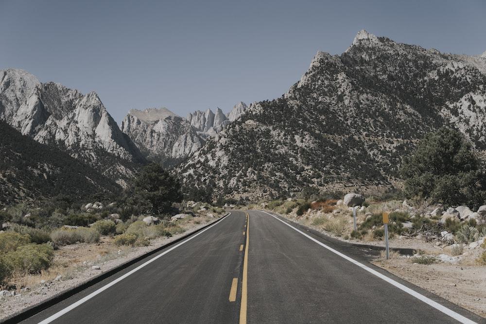 road between desert