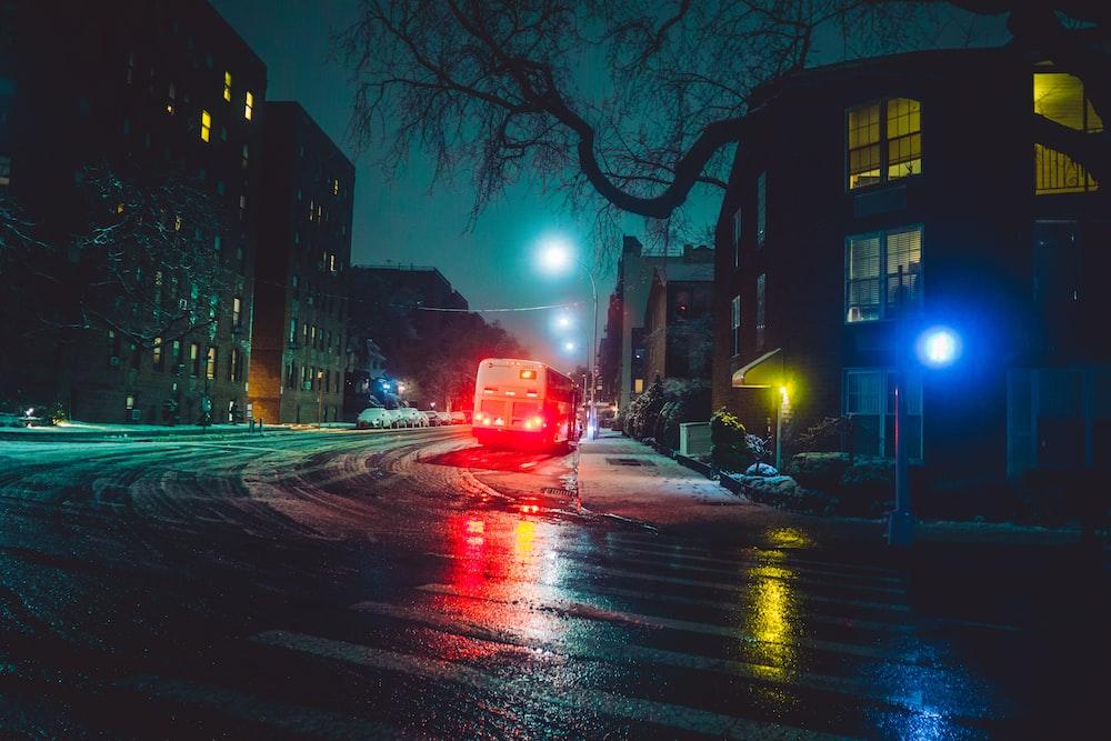 vehicle passing during nighttime