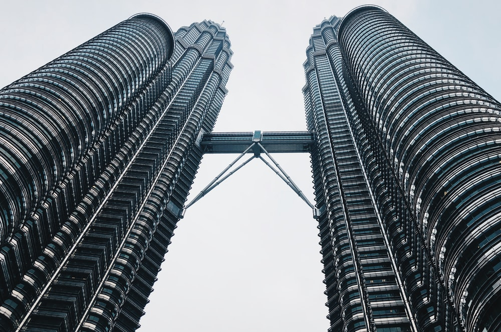 low angle photography of Petronas Tower, Malaysia