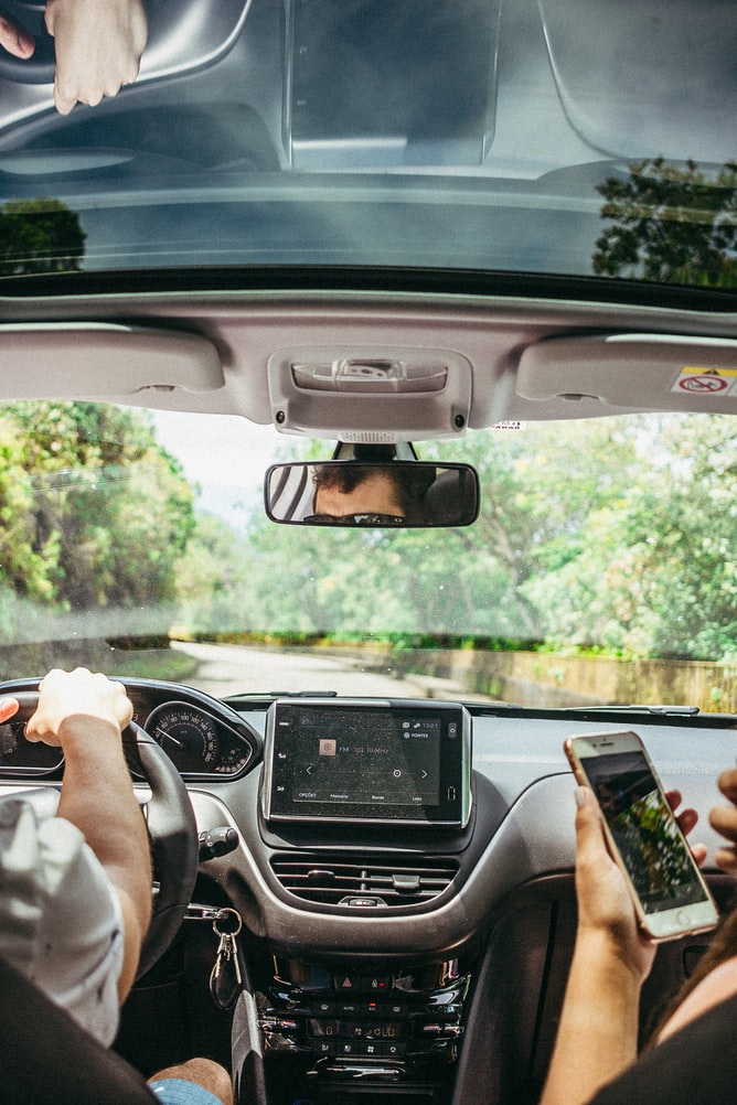 GPS, e-readers, and other handheld devices are primary, but easily avoided, offenders for distracted driving penalties