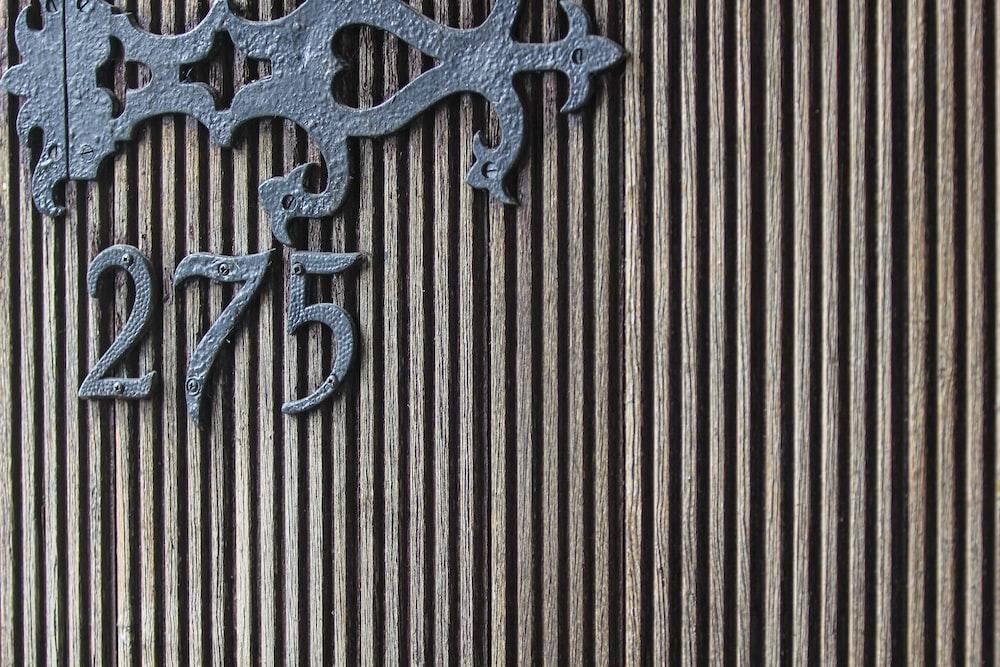 black metal 275 wall decor