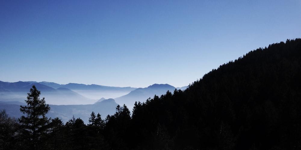 bird's eye view of Smoky Mountain National Park