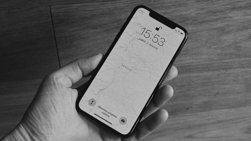 person holding iPhone X