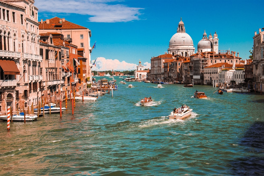 Venice Grand Canal, Italy