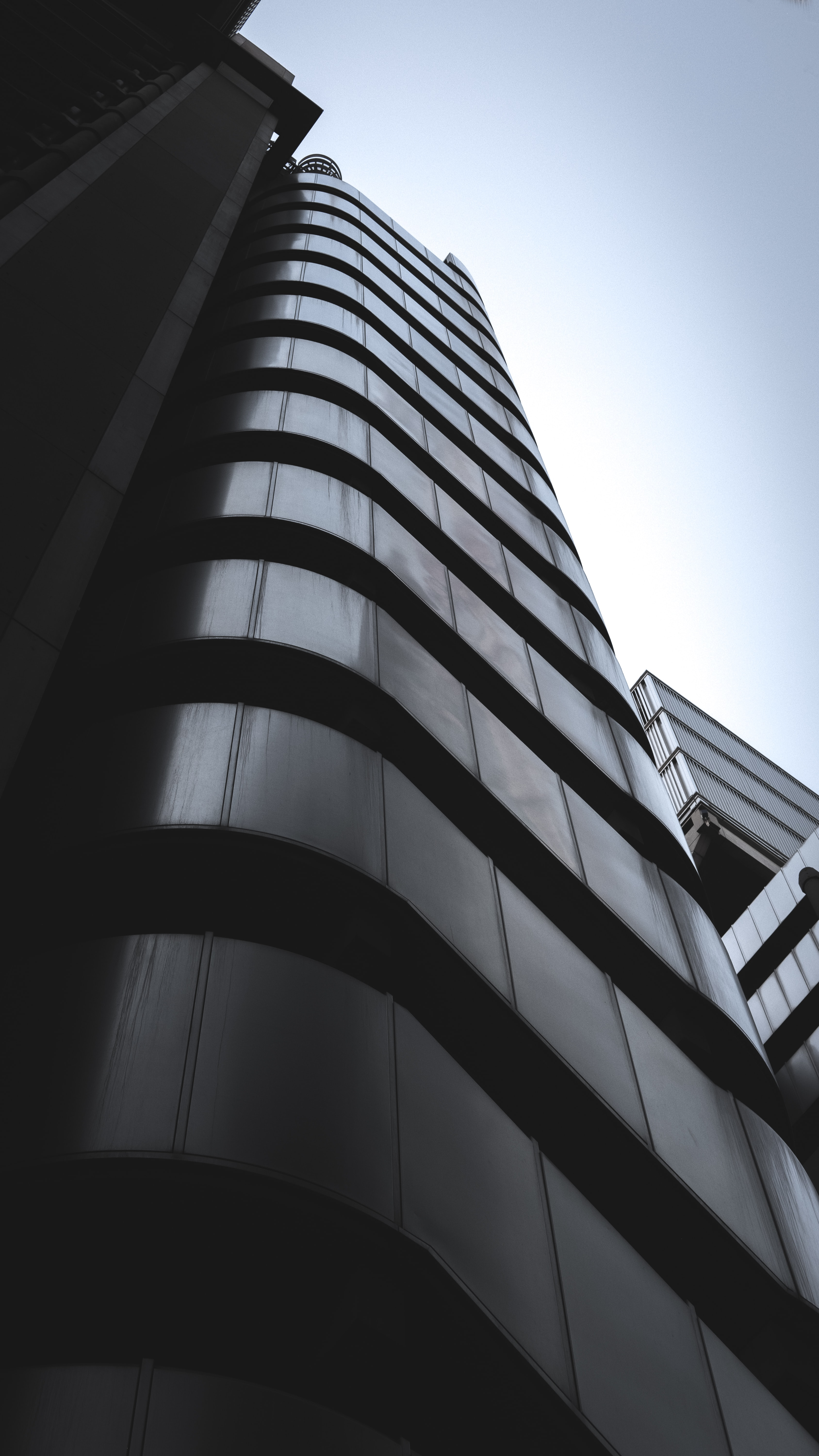 low-angle of high-rise building