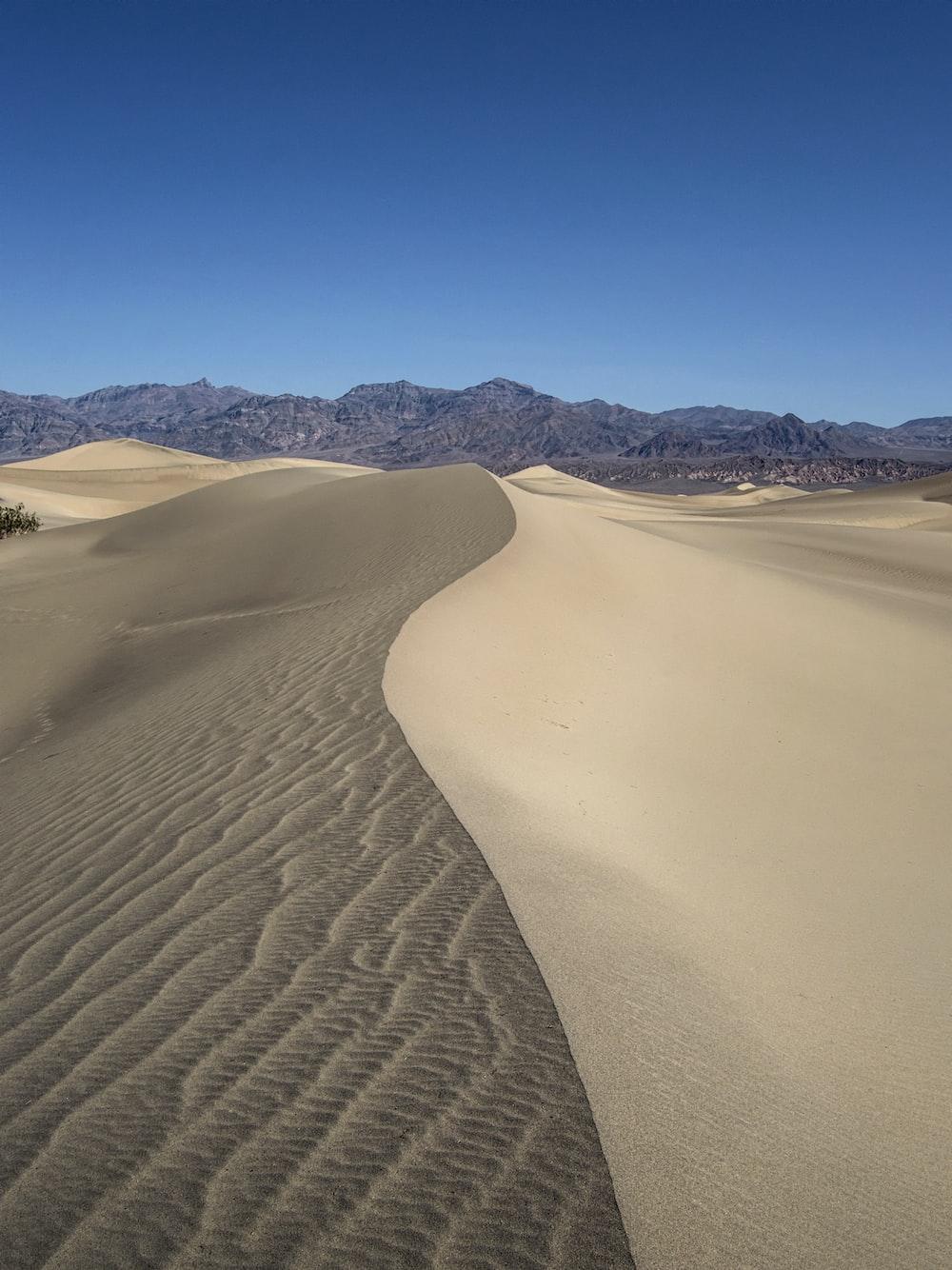 brown sand field