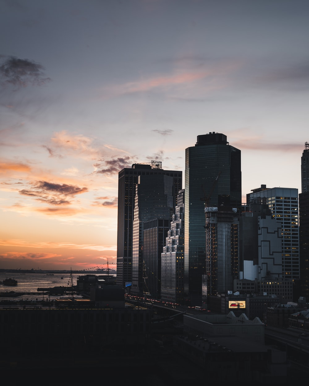 photo of cityscape during golden hour