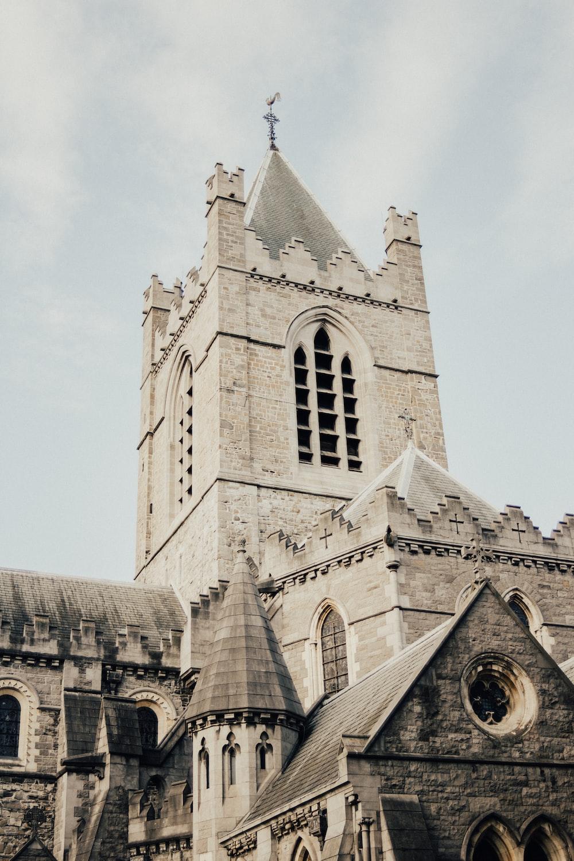 low-angle of chapel