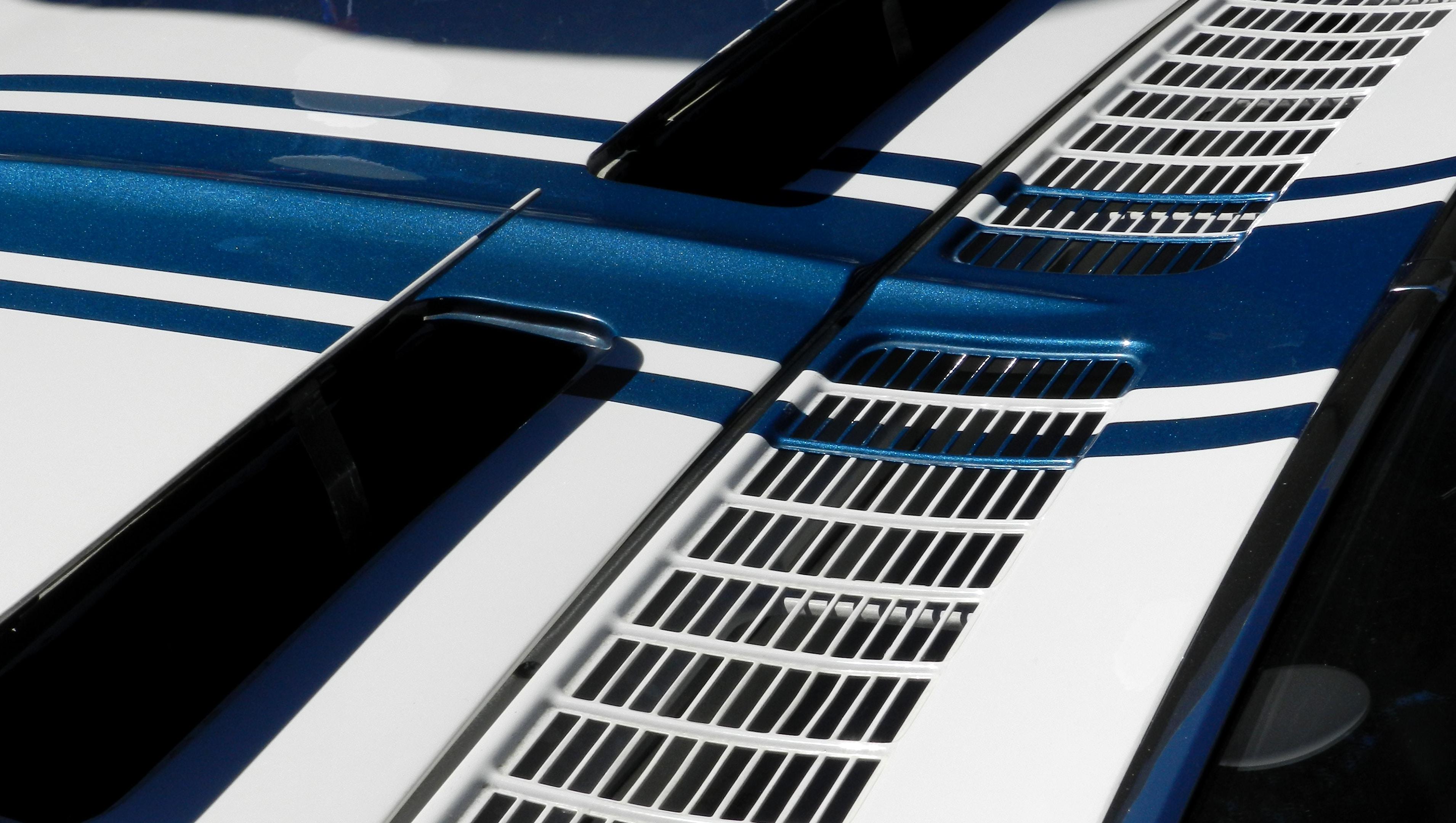 closeup of car air vent