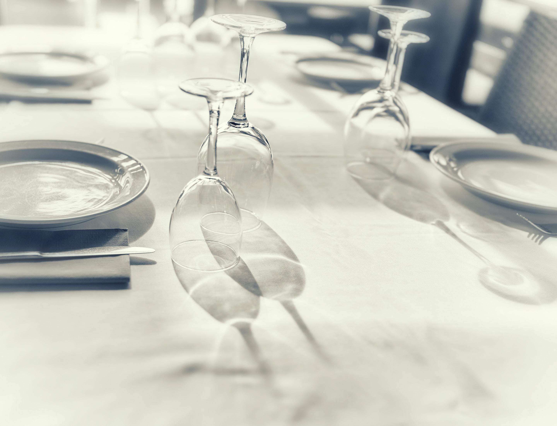 tilt photography of fine dining