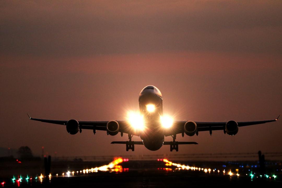 Atardecer de Aeropuerto