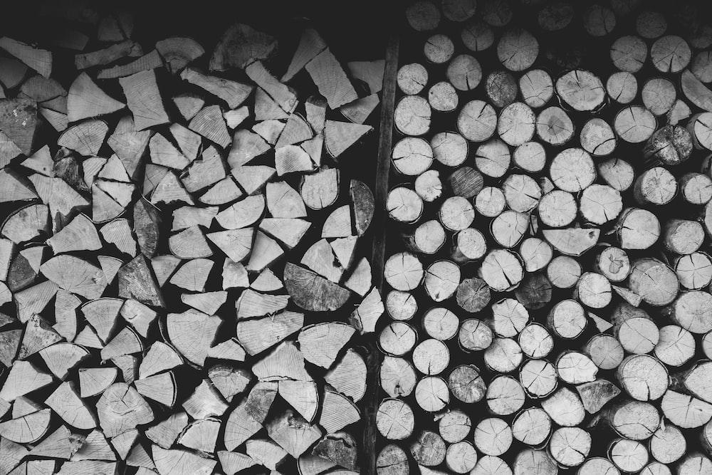 wood chunks lot
