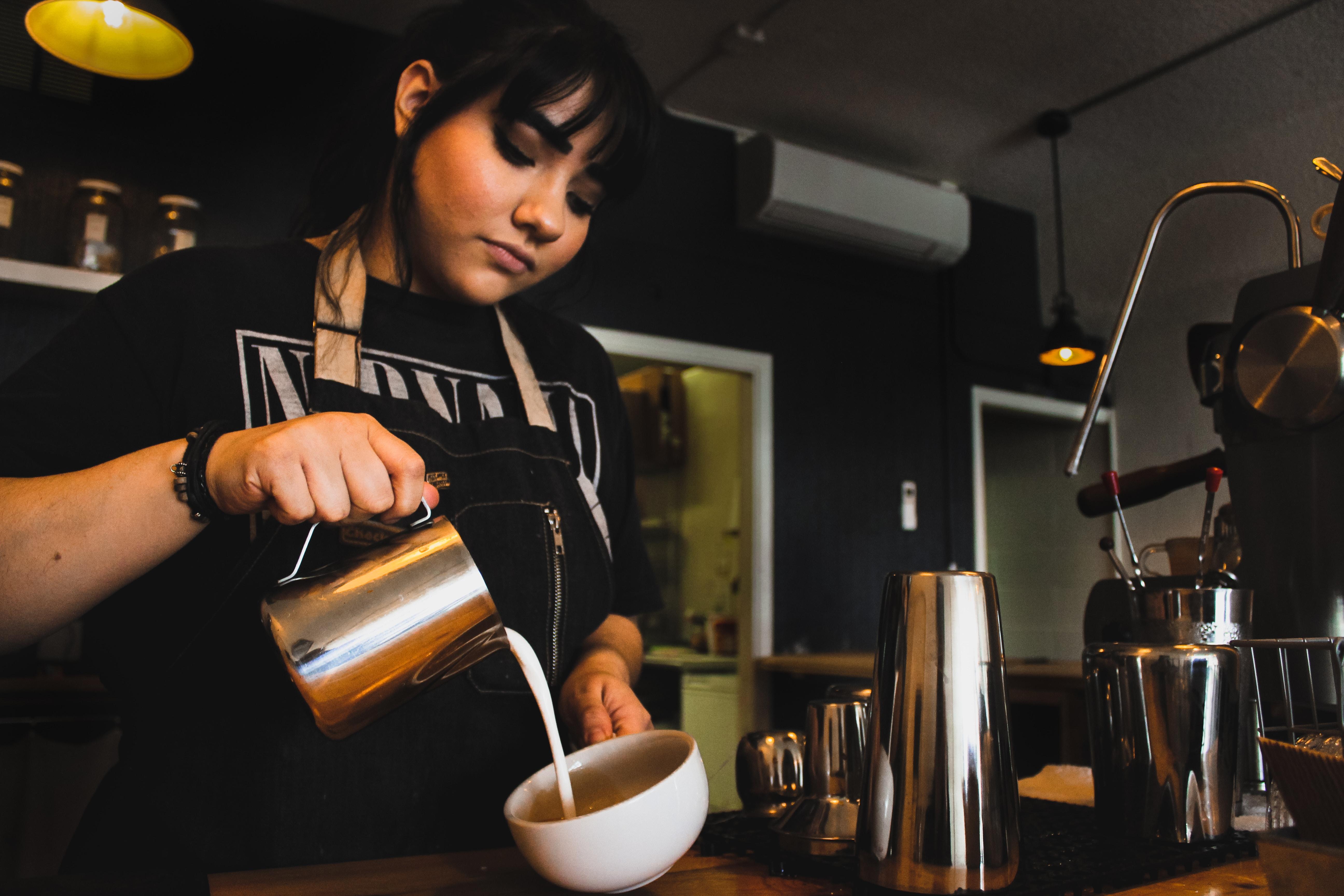 Alyssa, Cafe Manager | Photo Credit: Chloe Leisvia via