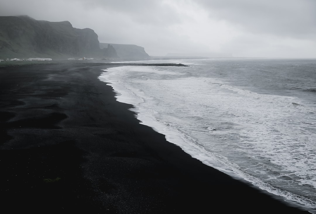hd reynisfjara black sand beach iceland. Black Bedroom Furniture Sets. Home Design Ideas