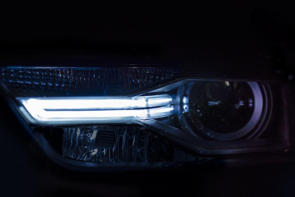 vehicle headlight turn on