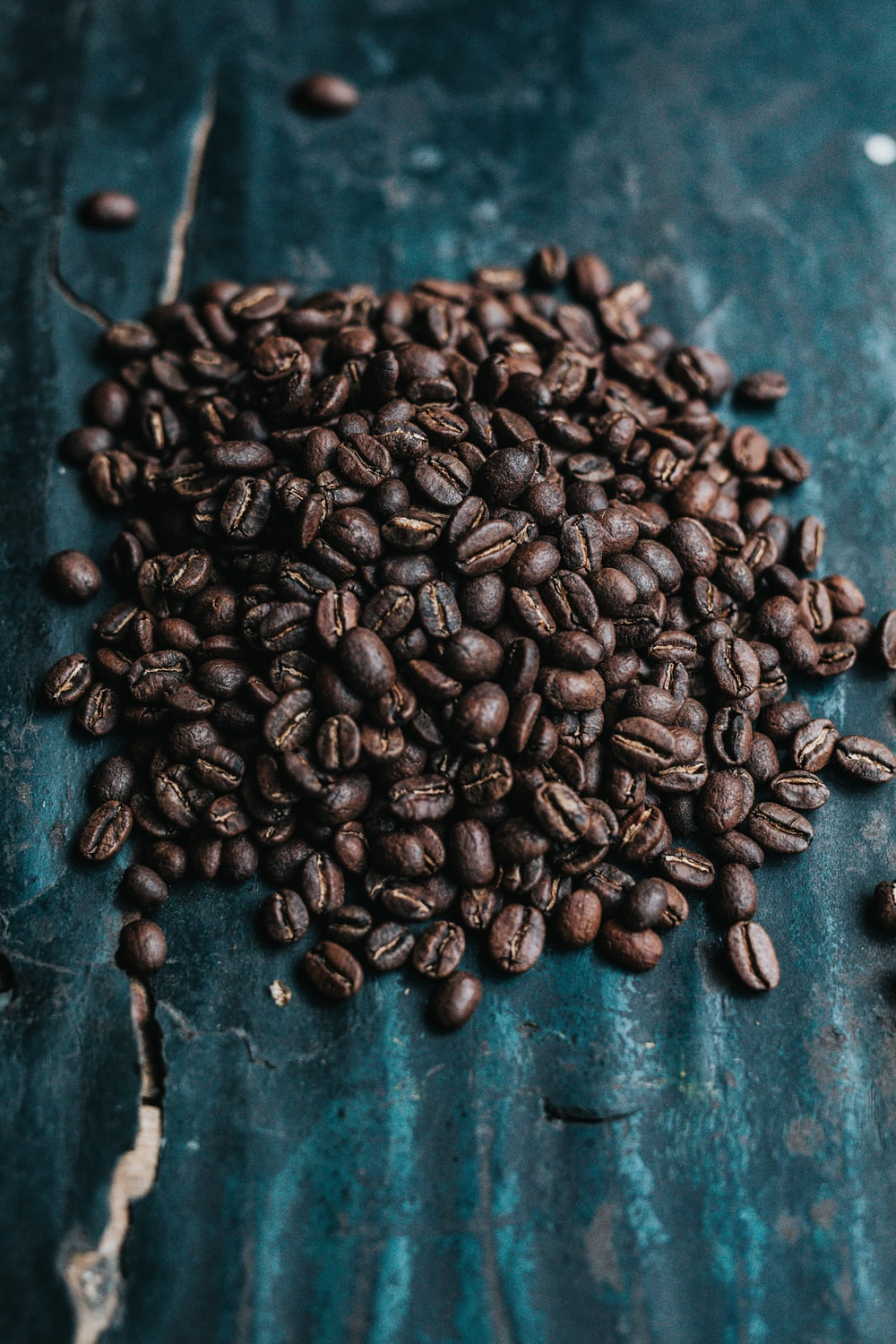 selective-focus photography of coffee beans