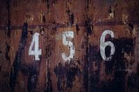 456 door number