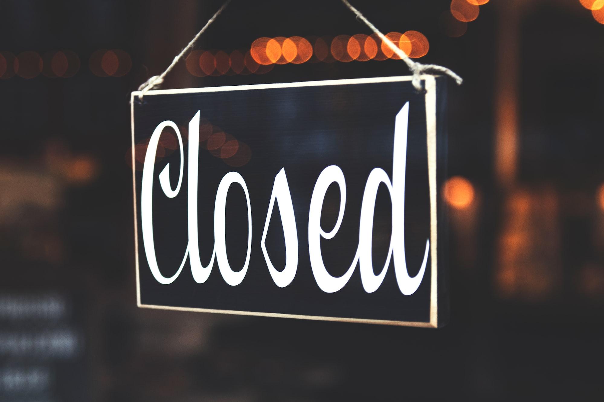 Shutting down an open source project