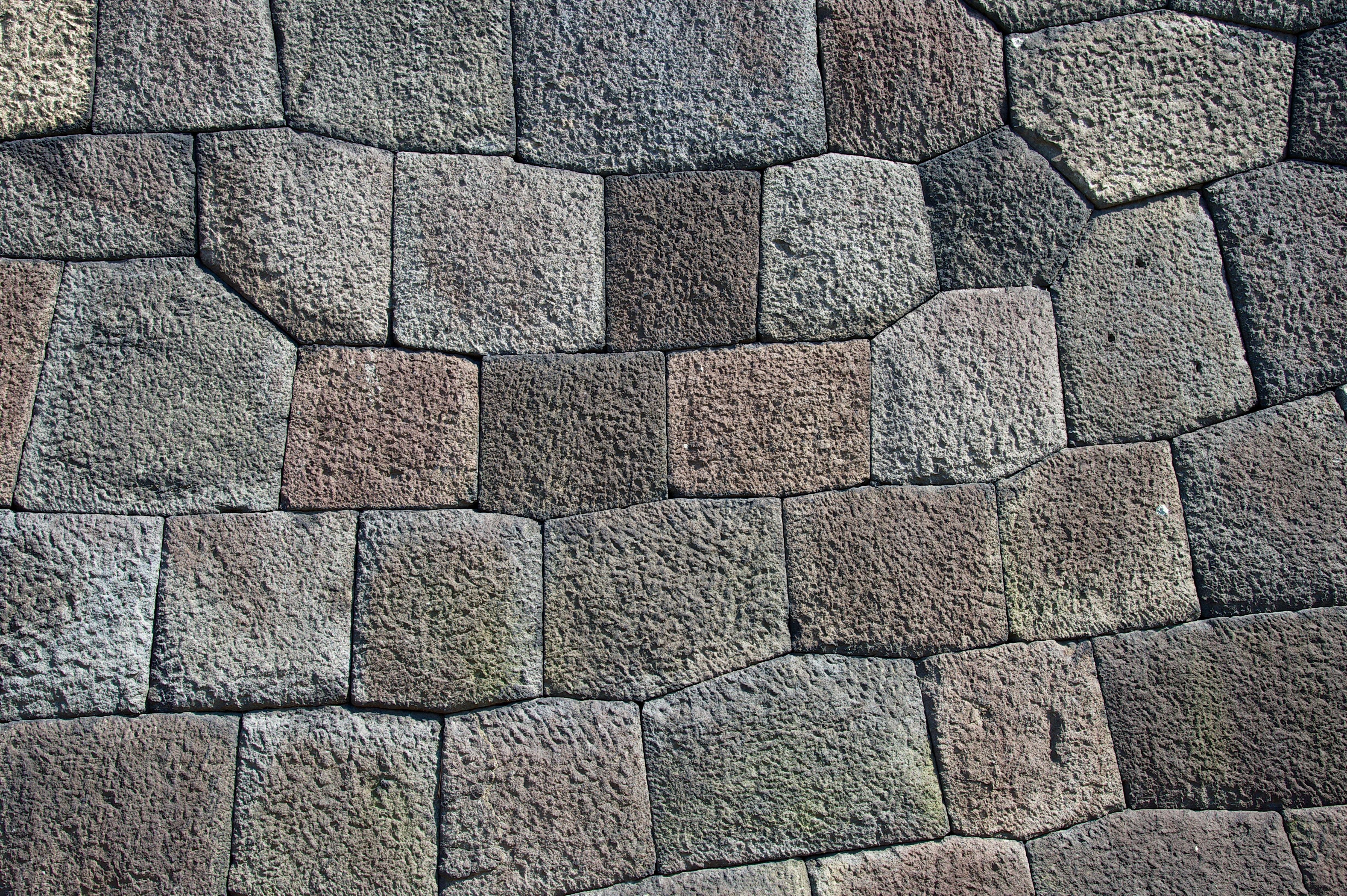 close up photography of concrete brick pavement