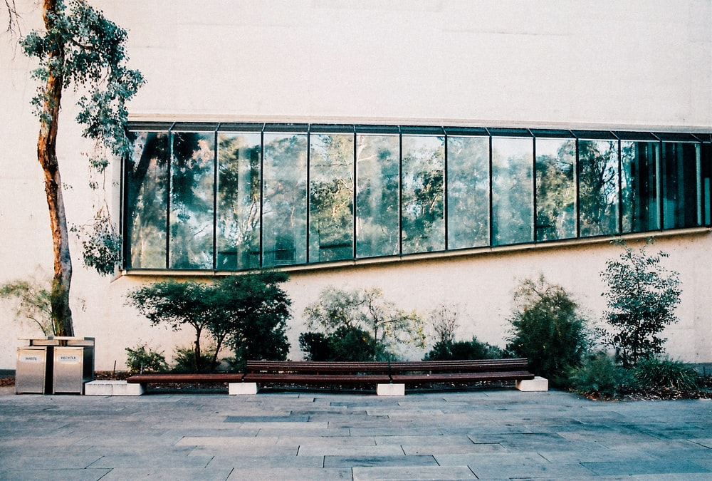 clear glass window panel